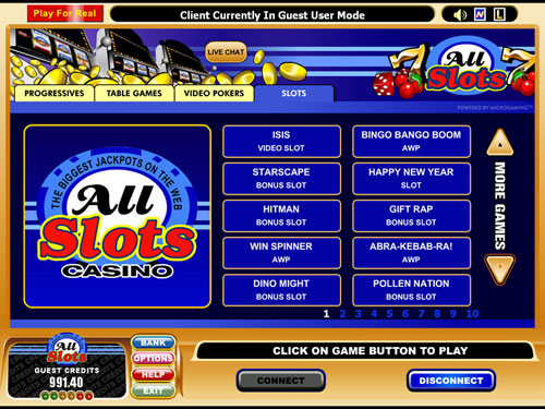 online slot games you can play